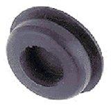 Afdekdop rubber boorgat 6mm